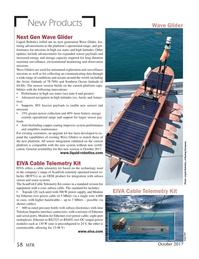 Marine Technology Magazine, page 58,  Oct 2017