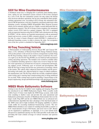 Marine Technology Magazine, page 59,  Oct 2017