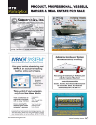 Marine Technology Magazine, page 63,  Oct 2017