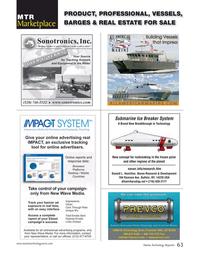 Marine Technology Magazine, page 63,  Oct 2017