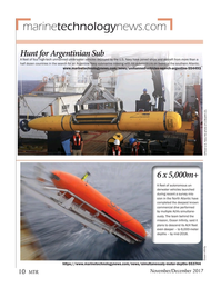 Marine Technology Magazine, page 10,  Nov 2017