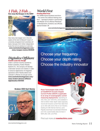 Marine Technology Magazine, page 11,  Nov 2017
