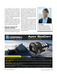 Marine Technology Magazine, page 17,  Nov 2017