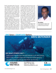 Marine Technology Magazine, page 23,  Nov 2017