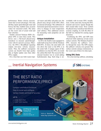 Marine Technology Magazine, page 27,  Nov 2017