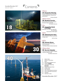 Marine Technology Magazine, page 2,  Nov 2017
