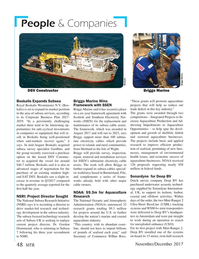 Marine Technology Magazine, page 48,  Nov 2017