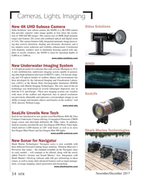 Marine Technology Magazine, page 54,  Nov 2017