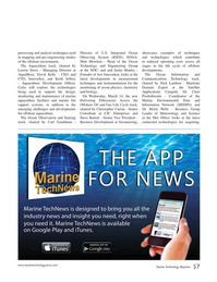 Marine Technology Magazine, page 57,  Nov 2017