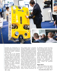 Marine Technology Magazine, page 58,  Nov 2017