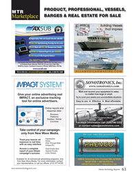 Marine Technology Magazine, page 63,  Nov 2017