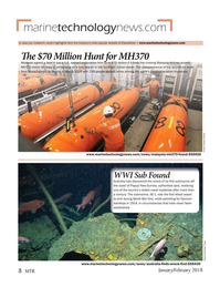 Marine Technology Magazine, page 8,  Jan 2018