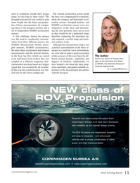 Marine Technology Magazine, page 13,  Jan 2018