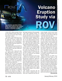 Marine Technology Magazine, page 16,  Jan 2018