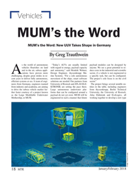 Marine Technology Magazine, page 18,  Jan 2018