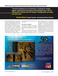Marine Technology Magazine, page 21,  Jan 2018
