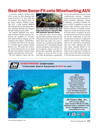 Marine Technology Magazine, page 49,  Jan 2018