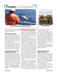 Marine Technology Magazine, page 10,  Mar 2018
