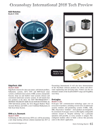 Marine Technology Magazine, page 65,  Mar 2018