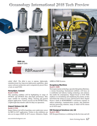 Marine Technology Magazine, page 67,  Mar 2018