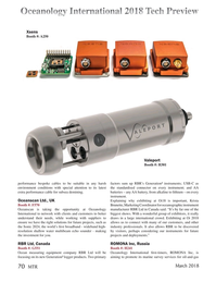 Marine Technology Magazine, page 70,  Mar 2018