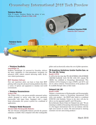 Marine Technology Magazine, page 74,  Mar 2018
