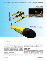 Marine Technology Magazine, page 76,  Mar 2018