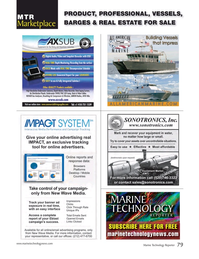 Marine Technology Magazine, page 79,  Mar 2018