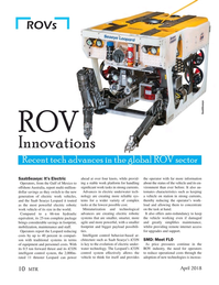 Marine Technology Magazine, page 10,  Apr 2018