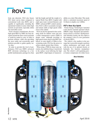 Marine Technology Magazine, page 12,  Apr 2018