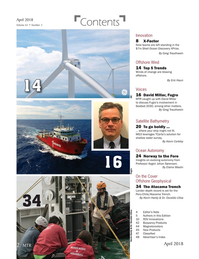 Marine Technology Magazine, page 2,  Apr 2018