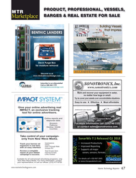 Marine Technology Magazine, page 47,  Apr 2018
