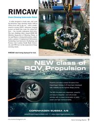 Marine Technology Magazine, page 9,  May 2018