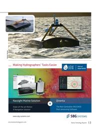 Marine Technology Magazine, page 13,  May 2018