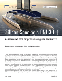 Marine Technology Magazine, page 14,  May 2018