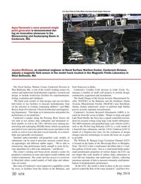 Marine Technology Magazine, page 30,  May 2018
