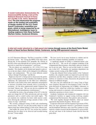 Marine Technology Magazine, page 32,  May 2018
