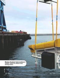 Marine Technology Magazine, page 34,  May 2018