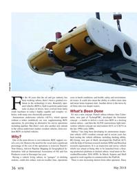Marine Technology Magazine, page 36,  May 2018
