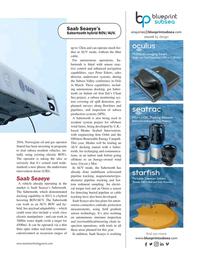 Marine Technology Magazine, page 37,  May 2018