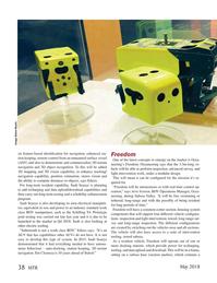 Marine Technology Magazine, page 38,  May 2018