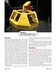 Marine Technology Magazine, page 40,  May 2018