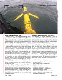 Marine Technology Magazine, page 50,  May 2018