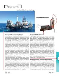 Marine Technology Magazine, page 52,  May 2018