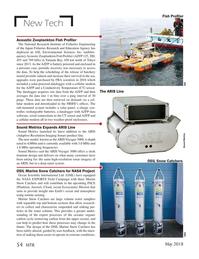Marine Technology Magazine, page 54,  May 2018
