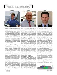 Marine Technology Magazine, page 58,  May 2018