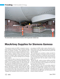Marine Technology Magazine, page 12,  Jun 2018