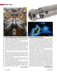 Marine Technology Magazine, page 54,  Jun 2018