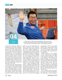 Marine Technology Magazine, page 12,  Jul 2018