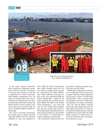 Marine Technology Magazine, page 18,  Jul 2018